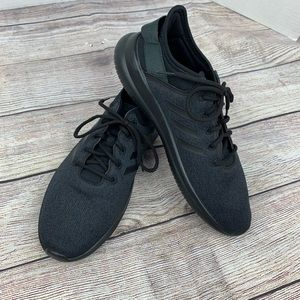 NWOT Adidas Cloudfoam QT Flex All Black Shoes